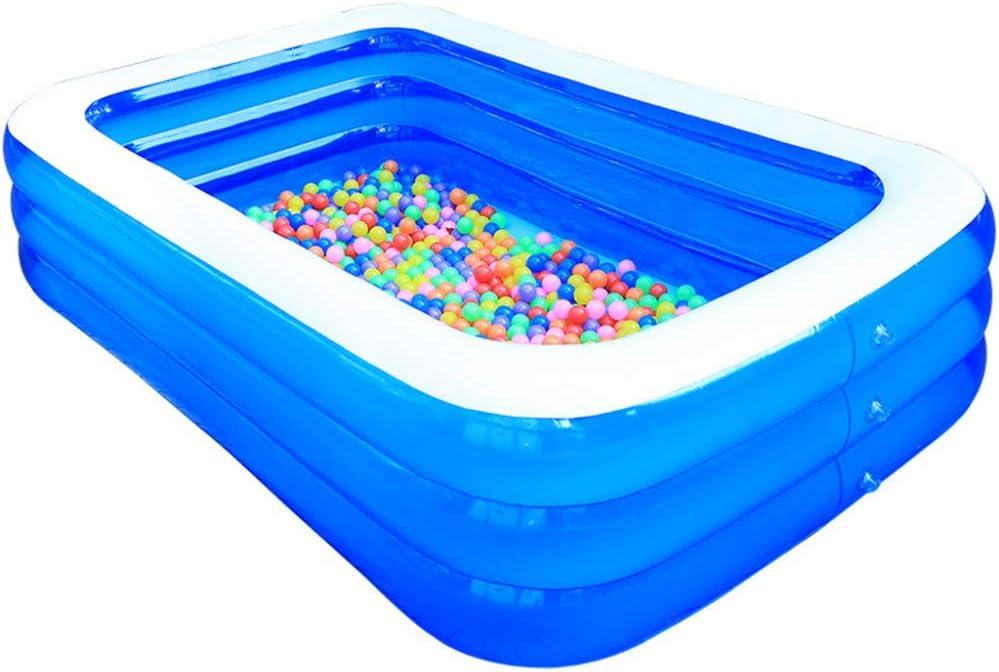 ZYQZYQ Piscina Piscina Infantil Plegable Piscina Inflable Piscina Infantil Piscina Familiar Al Aire Libre Tinas De Baño Tinas Infladas Fiesta De Agua De Verano,1.3m