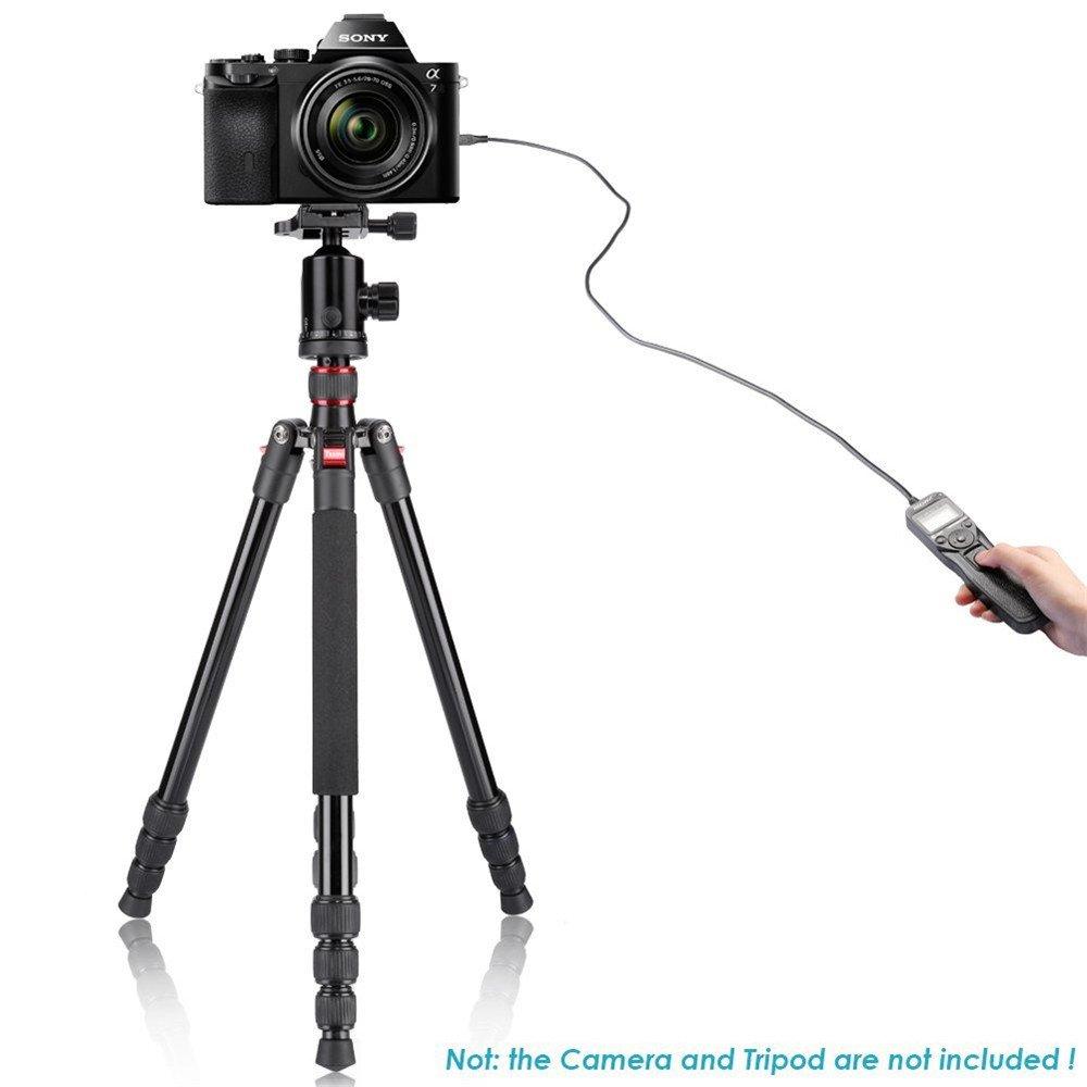650D 500D 550D 600D 70D 1100D Jintu 1000D timer scatto remoto RS-60E3/per Canon reflex 80D intervallometro 60D 700D