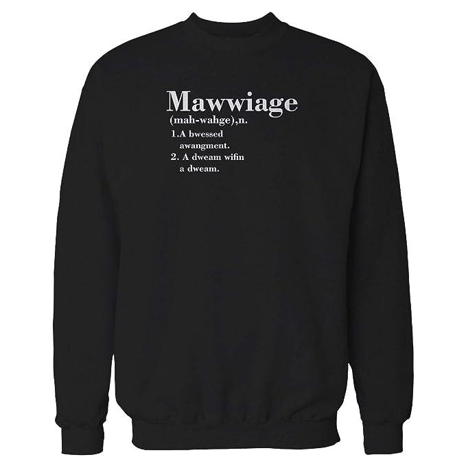 Mawwiage Quote Princess Bride Movie Quote Marriage Sweatshirt Medium