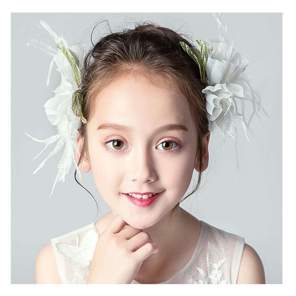 Wreath Flower Wedding Flower Girl Head Flower Garland Girl Hairpin Performance Dress Headband Hair Accessories