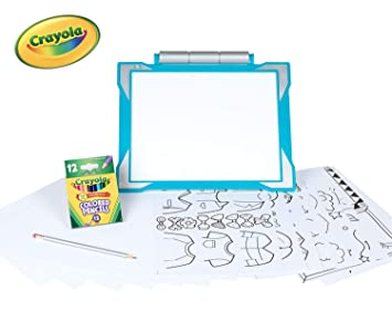 Crayola Light-Up Tracing Pad Teal, Coloring Board for Kids, Amazon, Toys  for Boys, Ages 6, 7, 8, 9, 10