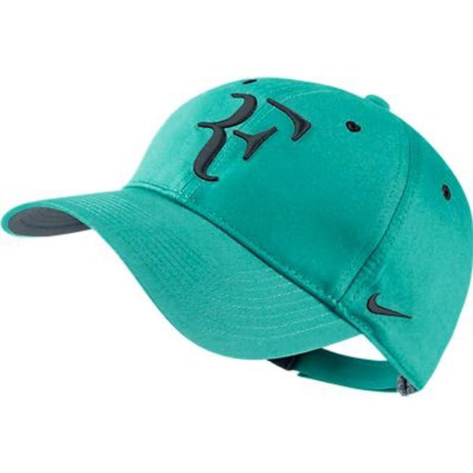 d6f6e89b63a13 Amazon.com : Nike Dri-Fit Premier RF Roger Federer Hat Retro 371202 ...