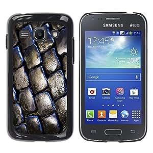 Be Good Phone Accessory // Dura Cáscara cubierta Protectora Caso Carcasa Funda de Protección para Samsung Galaxy Ace 3 GT-S7270 GT-S7275 GT-S7272 // Brick Street