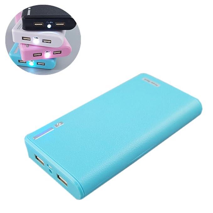 Amazon.com: 20000mah Cargador portátil de batería externa ...