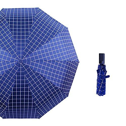 anqeeso Frauen Herren automatischen öffnen Travel Sonne Regen Light Compact Sonnenschirm Regenschirm mit UV-Schutz Stil Nr. 4 IpjL0Y5