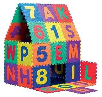 Playshoes 308735 Eva Puzzlematten 36 Teilig Amazonde Spielzeug