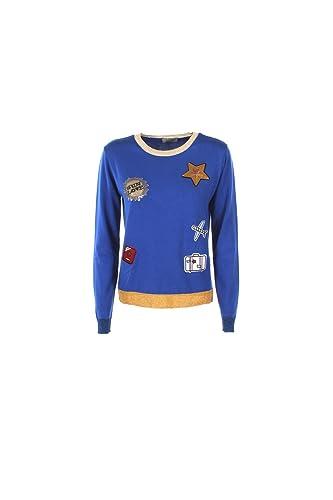Maglia Donna Kaos Twenty Easy S Azzurro Hp3fp016 Primavera Estate 2017