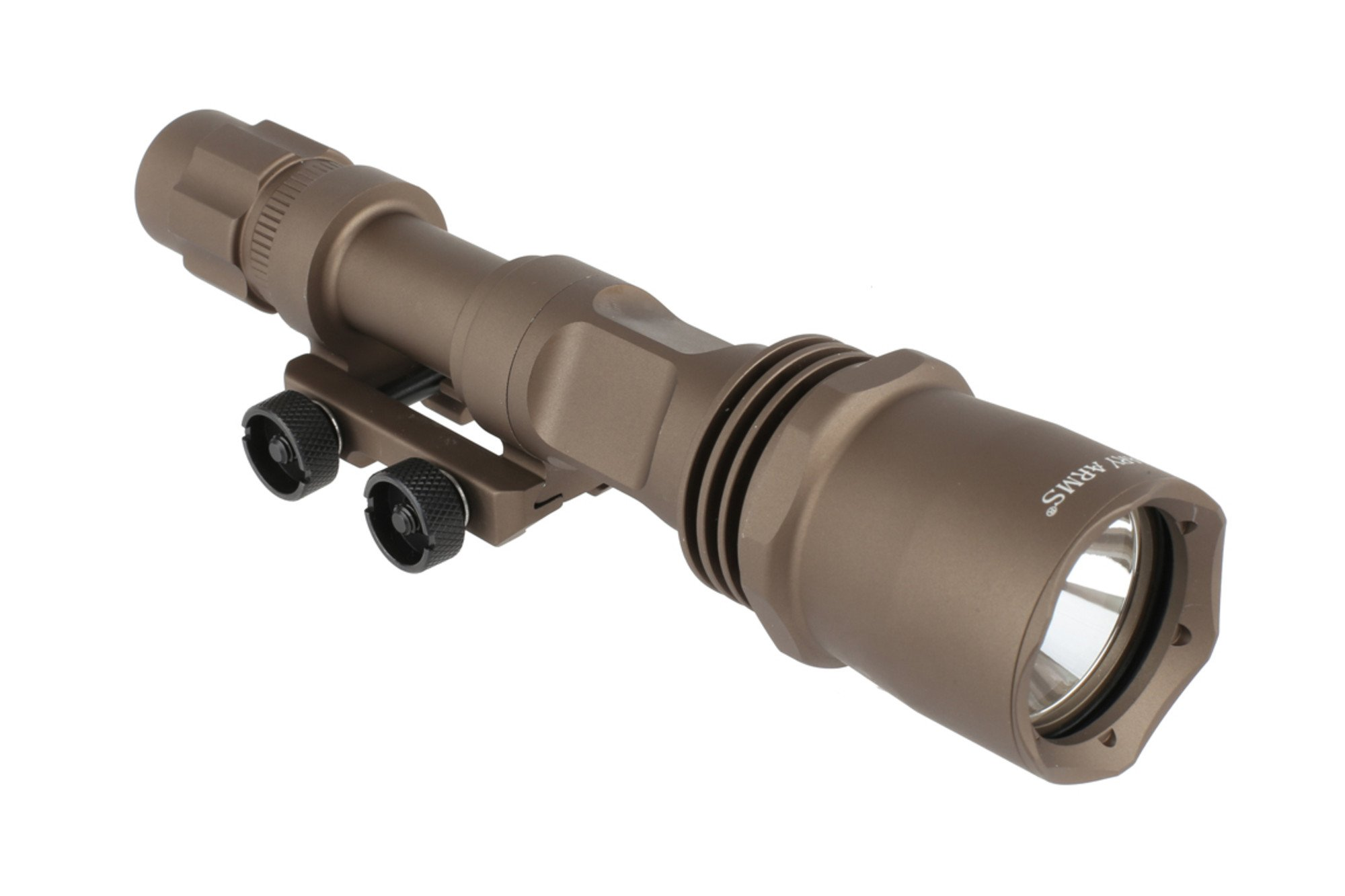 Primary Arms Aluminum Ultimate Tactical Weapon Light 900 Lumens Brightness GEN IV - Flat Dark Earth