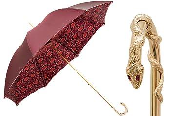 2913144a7d22 Amazon.com: Pasotti Luxury Red Python Umbrella NEW