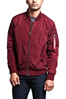 G-Style USA Men's Lightweight Bomber Flight Jacket