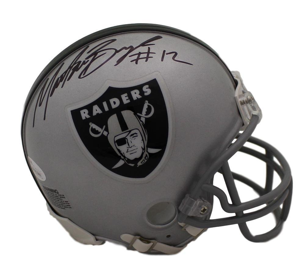 46cb135fb Amazon.com  Martavis Bryant Autographed Signed Oakland Raiders Mini Helmet  JSA  Sports Collectibles