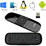 Telecomando,LinStar 2.4 G Wireless Air Mouse Motion Smart TV Android TV Box Mini tastiera per Android TV Scatole, PC, computer portatili, proiettori e Smart TV