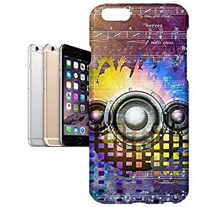 Phone Case For Apple iPhone 6 Plus - Music DJ Trance Protective Designer