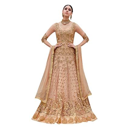 f91762ea33119 Amazon.com: Muslim Bridal Wedding Collection Heavy Net Lehenga Anarkali Suit  Pakistani Custom to Measure Eid 2823: Home Improvement