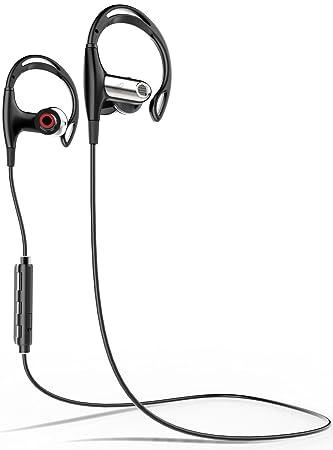 FosPower Bluetooth Auriculares, Wireless Bluetooth 4.1 Earbuds [IPX4 Sweatproof   Ruido Aislamiento] Deportes