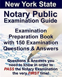Amazon new york notary public course book with exam questions new york notary public course book with exam questions answers by pierre fleurimond fandeluxe Choice Image