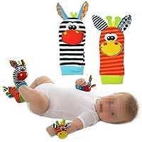 1par de Calcetines de bebé parte Calcetines/sonajero Calcetines