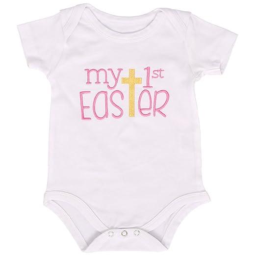 Amazon.com: Set de falda de Pascua My 1st Easter de Unique ...