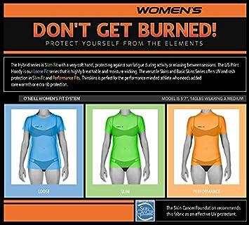 Amazon Com O Neill Women S Premium Skins Stitchless Upf 50 Long
