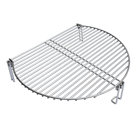 Onlyfire Stainless Steel Grill Expander Cooking Grate Fits for Charcoal  Kettle Grills Like Weber,Char-Broil and Ceramic Grills Like Large Big Green
