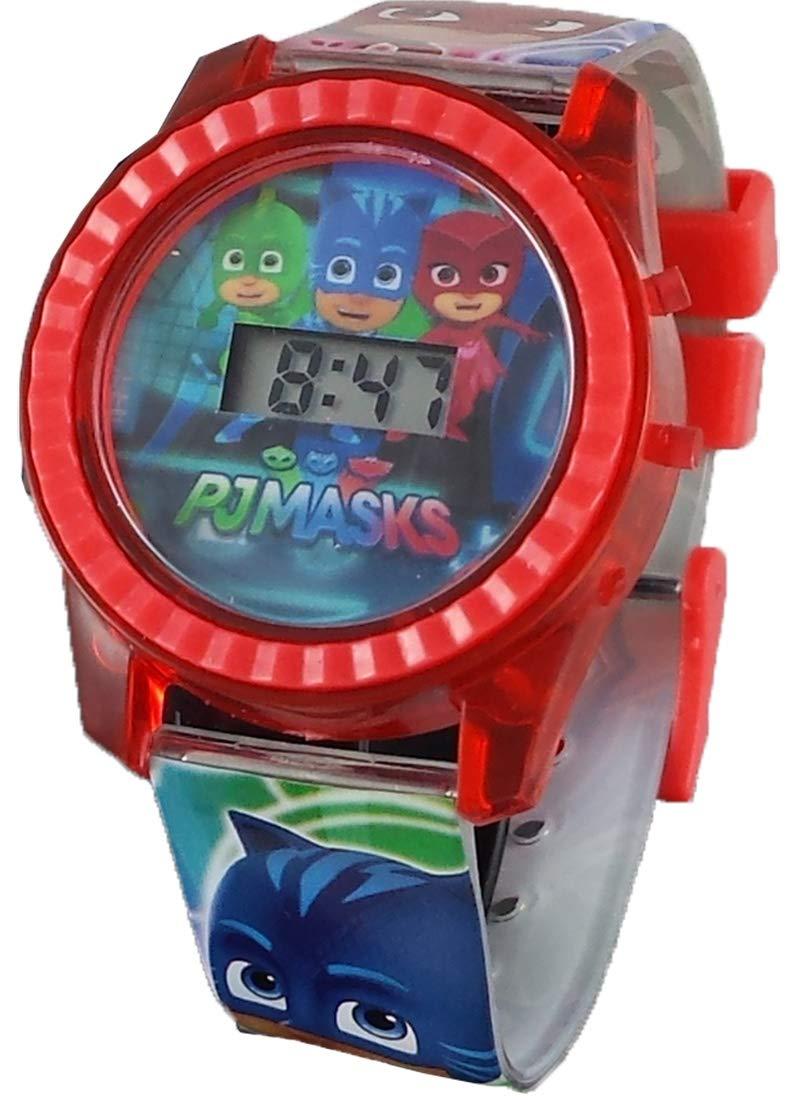 PJ Masks Kid's Digital Light Up Watch PJm4027 by PJ Masks