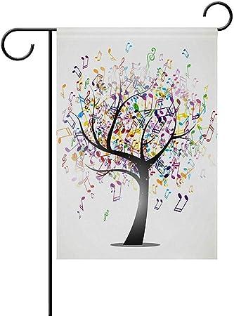 Amazon.com: Starotor - Bandera de jardín con diseño de árbol ...