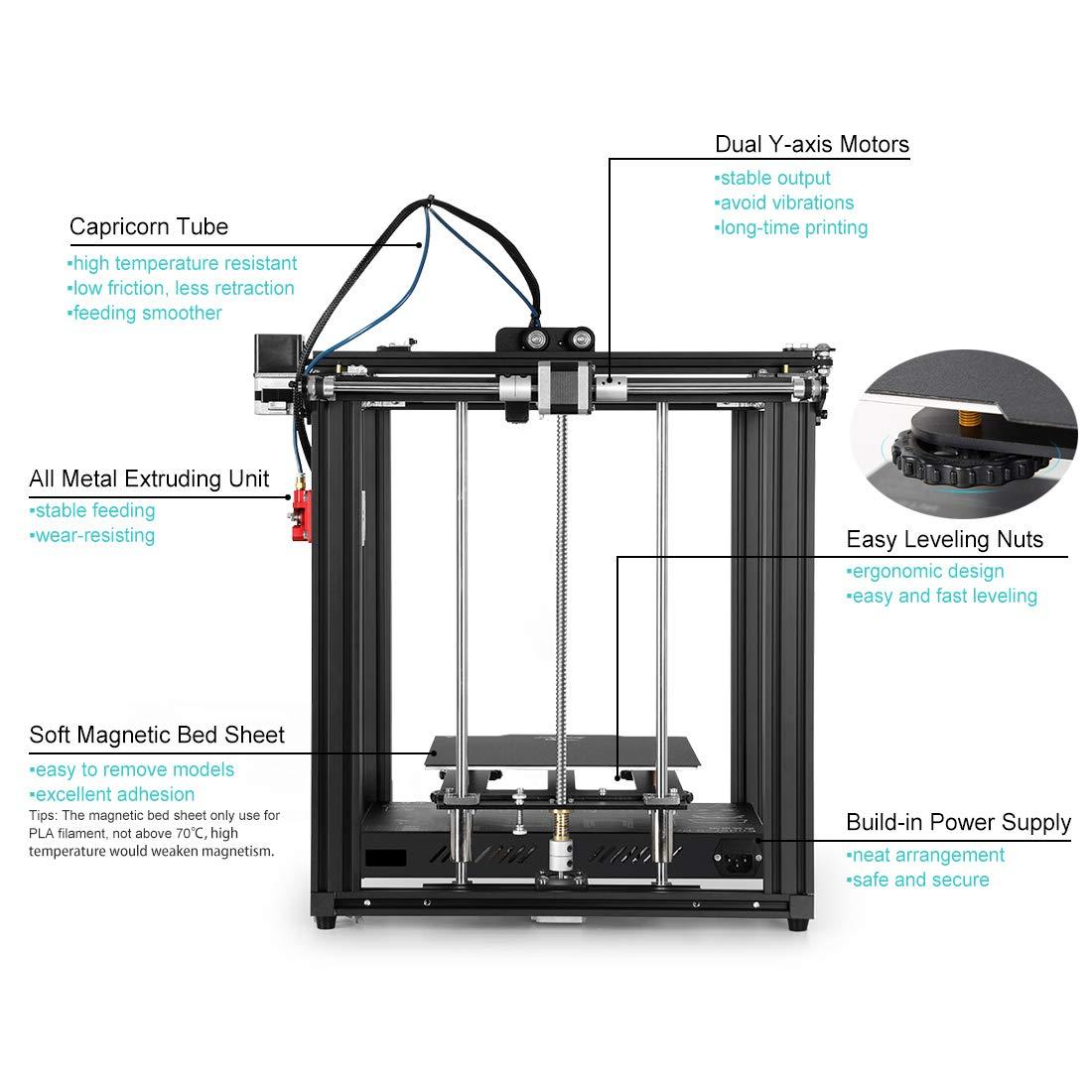 Creality Ender 5 Pro Impresora 3D DIY Kit actualización con ultra ...