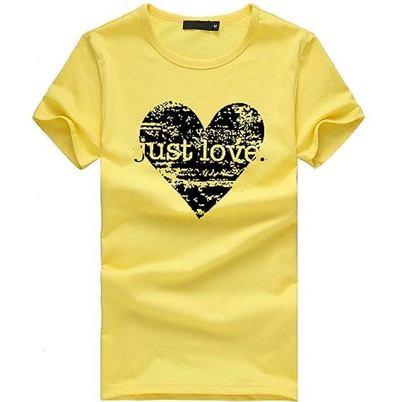 8580000dda47 Camiseta Mujer algodón Tallas Grandes Verano Camisetas con Estampado ...