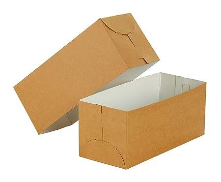 Premier Retail Gift Box-9 x 4 x 4 inch 2pc 100 Count Natural Kraft 9 x 4 x 4 Amazon.co.uk Kitchen u0026 Home  sc 1 st  Amazon UK & Premier Retail Gift Box-9 x 4 x 4 inch 2pc 100 Count Natural Kraft ...