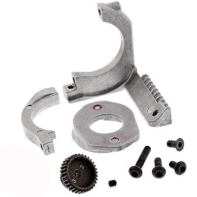 HPI 1/10 RS4 Sport 3 Flux 4WD Aluminum Motor Mount & 32T HD Pinion Gear: Toys & Games [5Bkhe2003716]