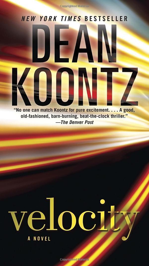 Velocity Novel Dean Koontz product image