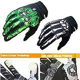 Rigwari Skeleton Cycling Gloves Motorcycles