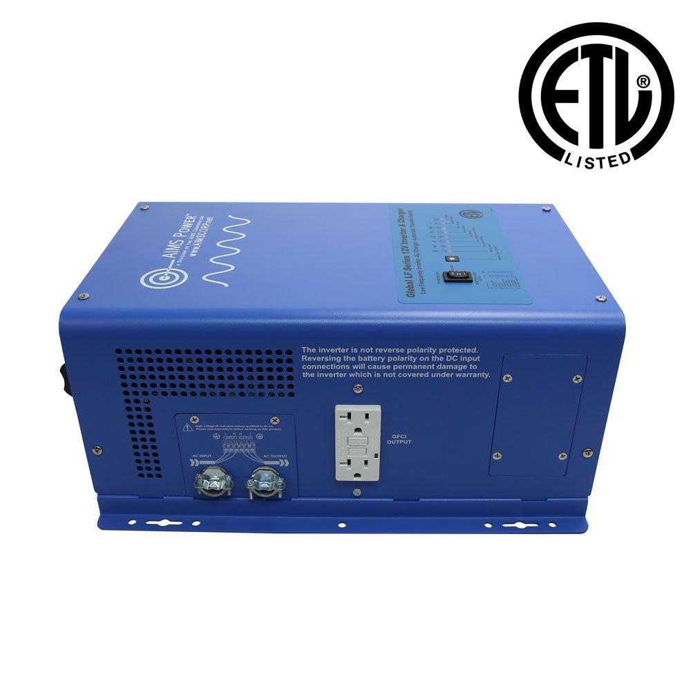 Aims Power 3000 Watt 12v Pure Sine Inverter Charger W Freedom 20 Wiring Diagram 9000w Surge Etl Certified Automotive