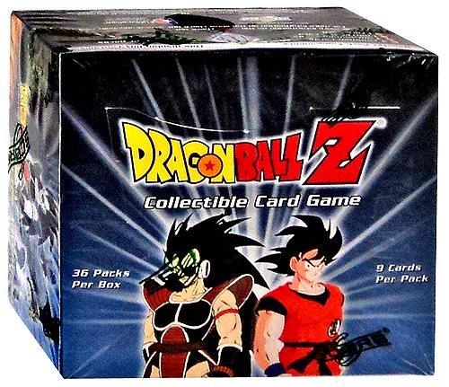 (Dragon Ball Z Saiyan Saga 36ct Booster Box (Limited Edition))