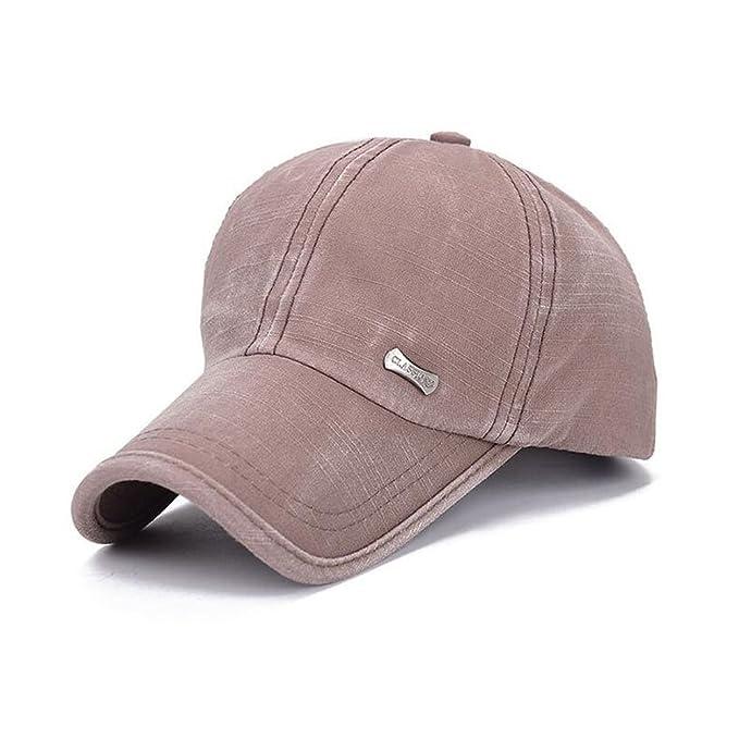 KRY Berretto da baseball per unisex sport esterni Cap lavato stile Cappelli  sportivo Cappelli Hip-hop Cappello ... 1a5f4279cdc7
