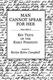 Man Cannot Speak for Her, Karlyn Kohrs Campbell, 0275932672
