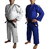 Adidas Slim Fit II IJF Judo Gi Weiss