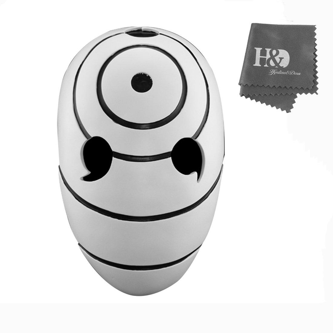 YUFENG Resin Halloween Collector Masks Masquerade Ball Face Mask Adult Party Cosplay Props Resin Tobi Obito Naruto Uchiha (uchiha zone mask) by YUFENG