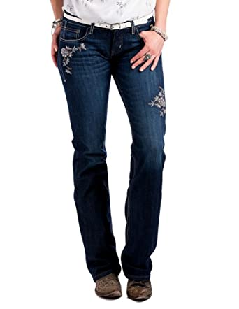 d87bbb33f73 Cruel Womens Abby Mid Rise Slim Boot Cut Jeans CB11054071 at Amazon Women s  Jeans store
