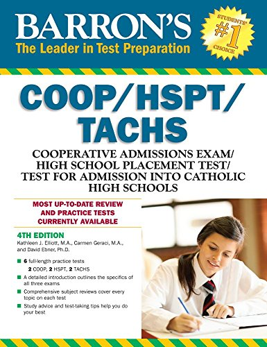 Barron's COOP/HSPT/TACHS, 4th Edition cover