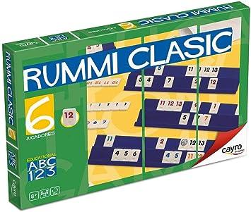 Cayro - Rummi Classic 6 Jugadores - Juego Tradicional - Juego de Mesa - Desarrollo de Habilidades cognitivas y lógico matemáticas - Juego de Mesa (712): Amazon.es: Juguetes y juegos