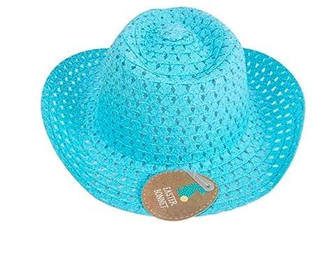b878203e4005f Children s Easter Bonnet Trilby Hat (Blue)  Amazon.co.uk  Pet Supplies