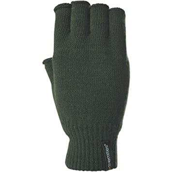 526f3df5d13 Extremities Thinny Fingerless Thermal Gloves - Khaki One Size ...