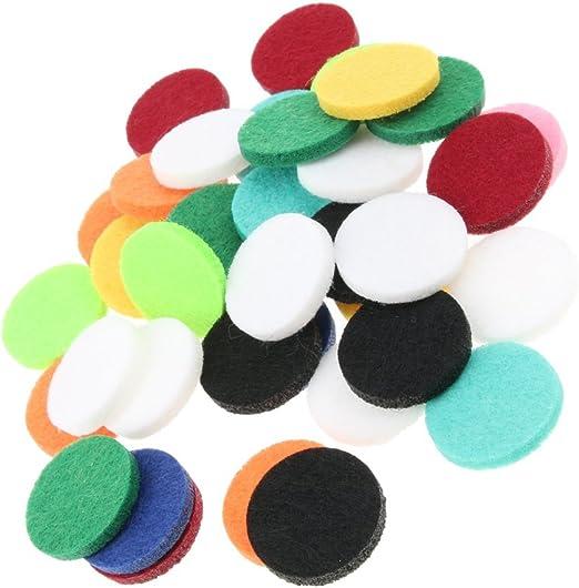 homyl 48 piezas Pastillas altavoces Aceite Esencial absorbente ...