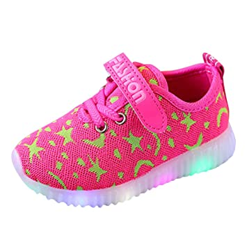 Baby Schuhe Jungen Madchen Sneaker Breathable Led Schuhe Kinder