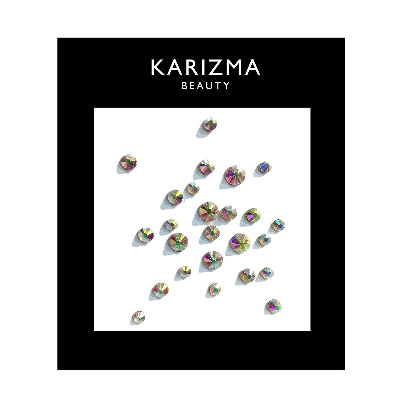 Iridescent Crystal Face Gems ✮ BEAUTY ✮ Festival Face Jewels Indian Bindi KARIZMA