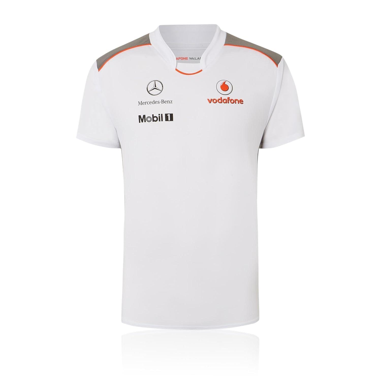 McLaren Vodafone Mercedes Team - Camiseta de Fórmula 1 Button ...