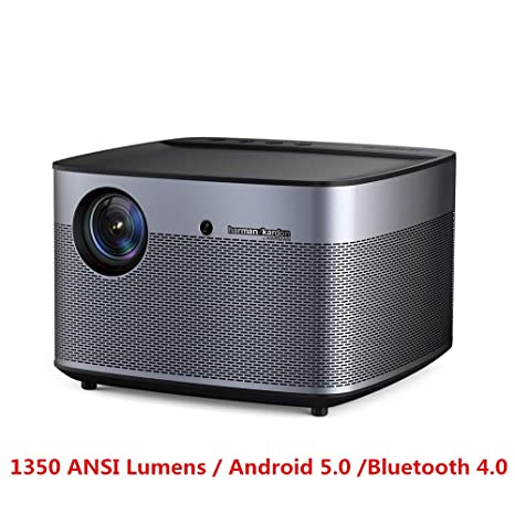 Proyector 1350 Lúmenes Ansi Full HD 4K 300 Pulgadas Home Theater ...