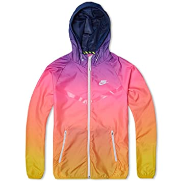 info for b0128 c826a NIKE Mens Sunset Windrunner Water Repellent Jacket Medium, Exercise    Fitness - Amazon Canada