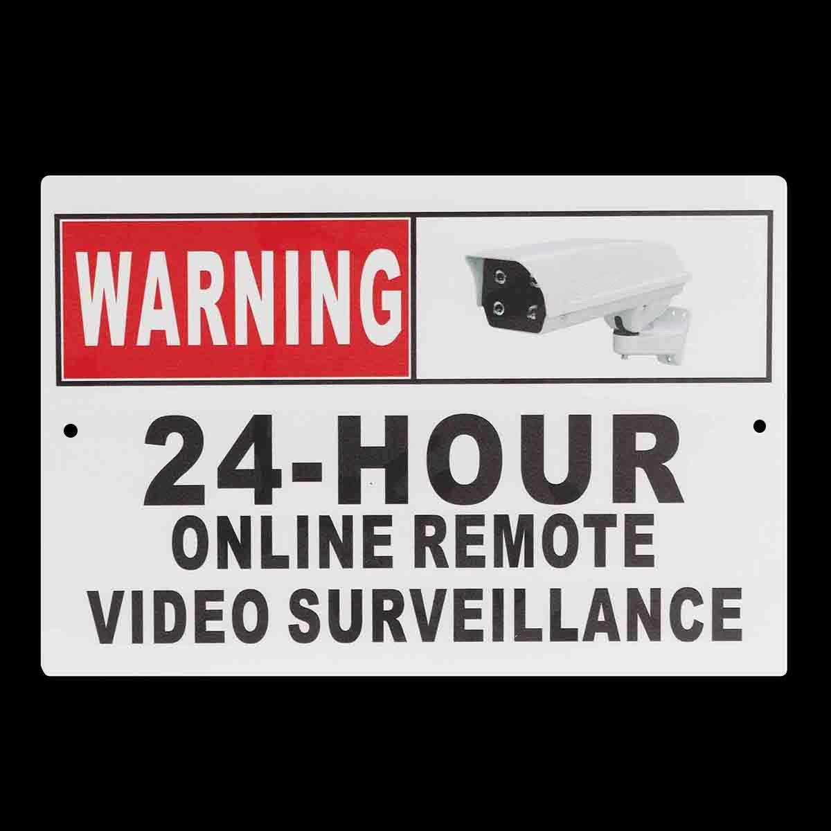 QOJA 30 x 20cm (12'' x 8'') 24 hour online remote video surveillance